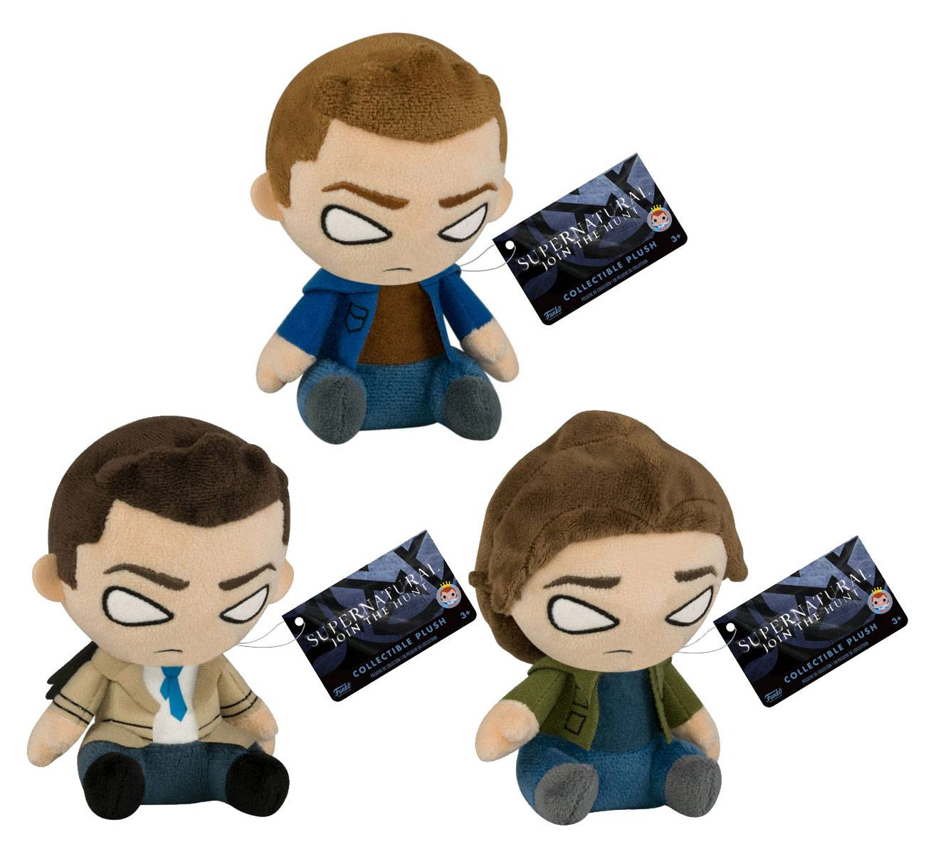 Supernatural Mopeez Plush Figure 12 cm Display (12)
