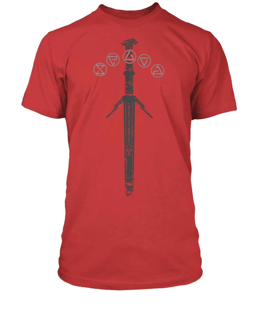 The Witcher T-Shirt Silver Sword Size S