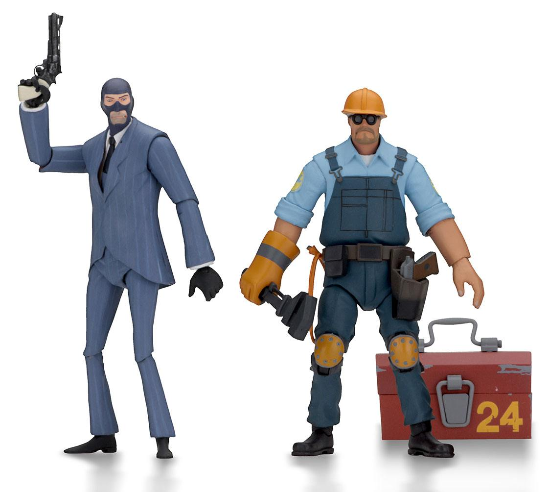 Team Fortress Action Figures 18 cm Serie 3.5 BLU Assortment (8)