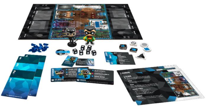DC Comics Funkoverse Board Game 2 Character Expandalone *Spanish Version*