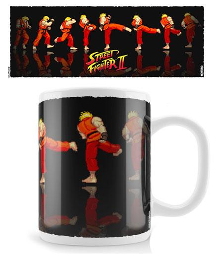 Street Fighter Mug Ken Sequence