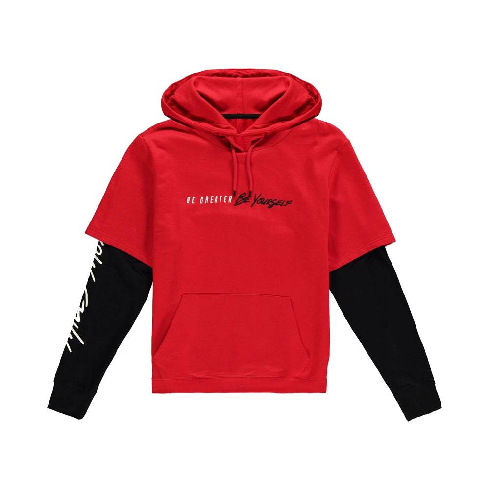 Spider-Man Hooded Sweater Be Greater Be Yourself Size S