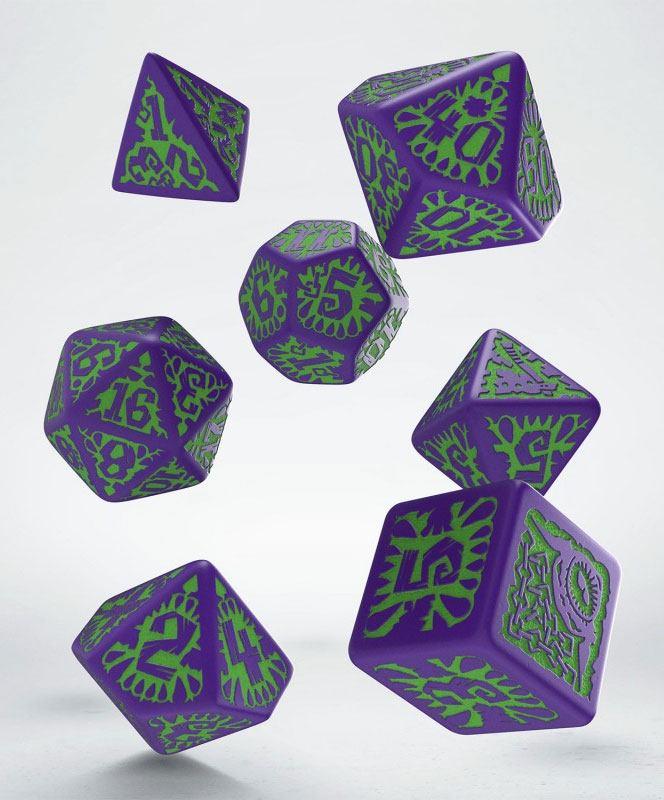 Pathfinder Dice Set Goblin (7)