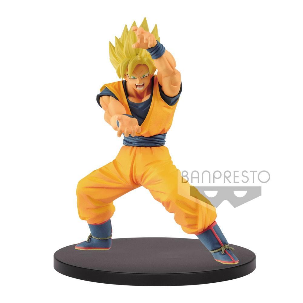 Dragon Ball Super Chosenshiretsuden PVC Statue Super Saiyan Goku 16 cm