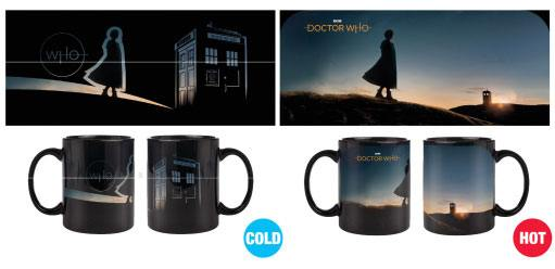 Doctor Who Heat Change Mug New Dawn