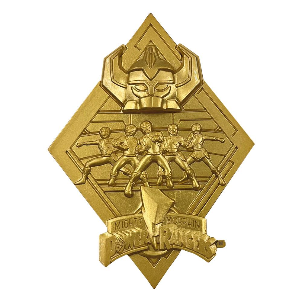 Power Rangers Medallion Limited Edition (gold plated)