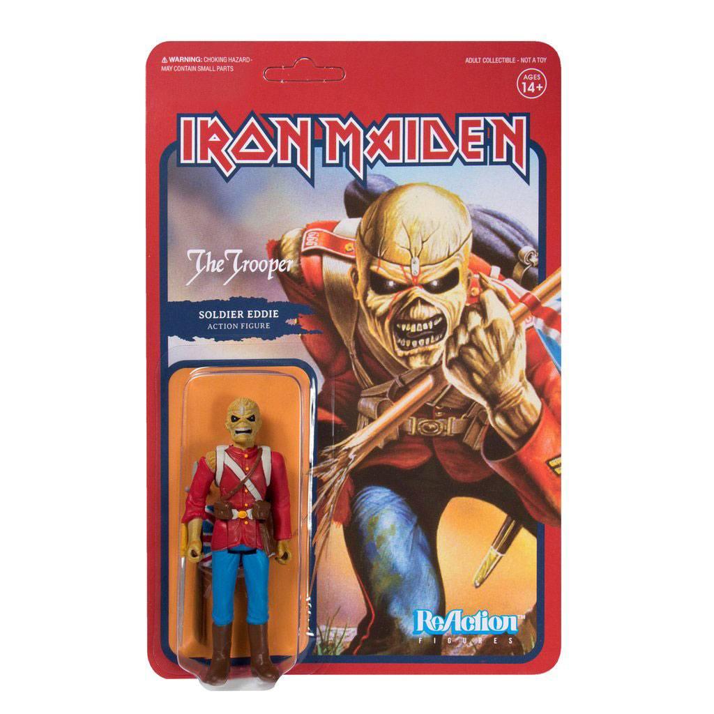 Iron Maiden ReAction Action Figure The Trooper (Soldier Eddie) 10 cm