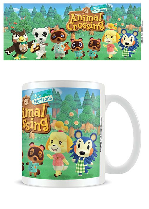 Animal Crossing Mug Lineup