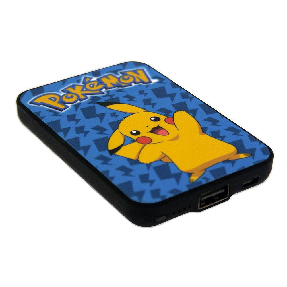 Pokemon Credit Card Sized Power Bank 5000 mAh Pikachu
