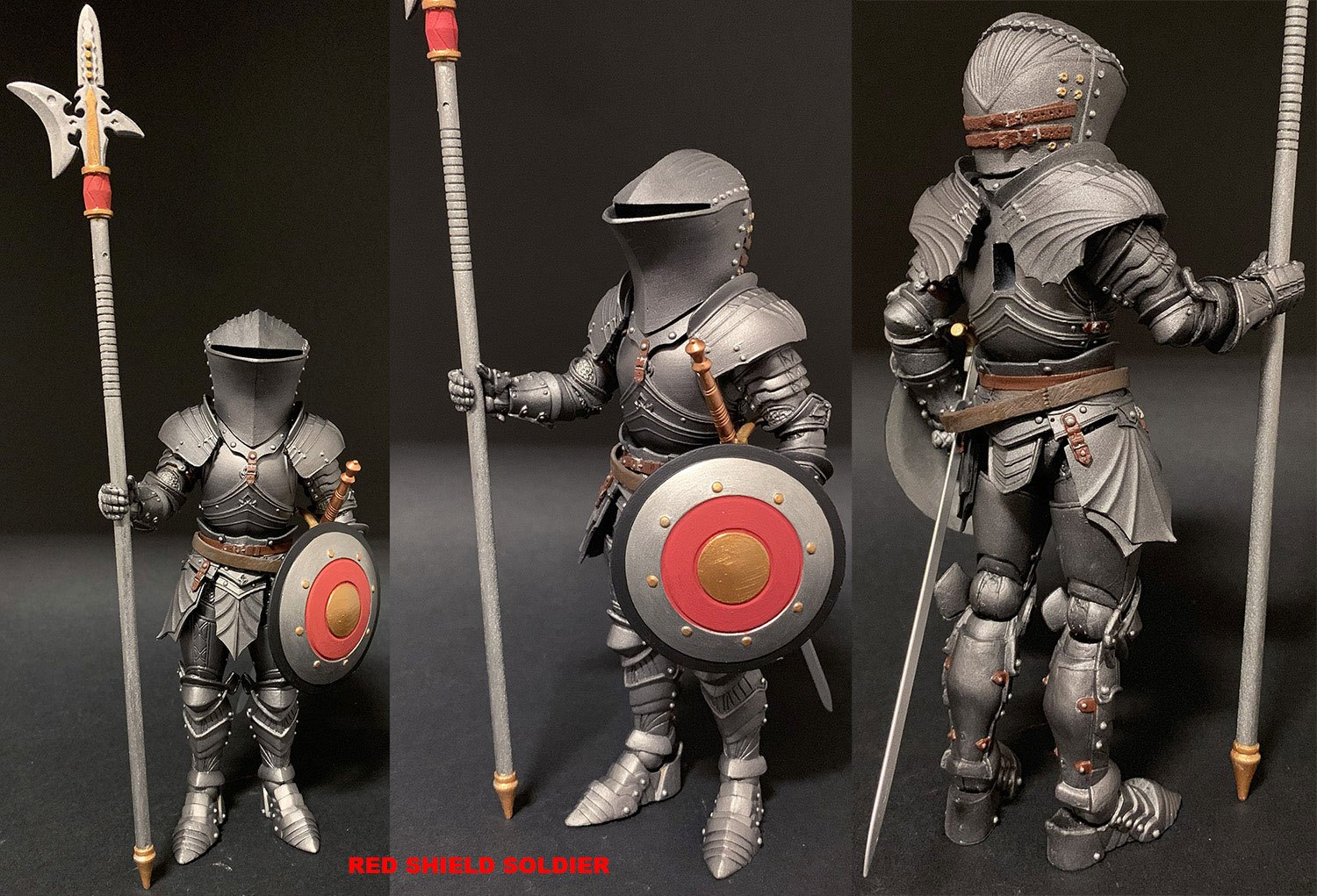 Mythic Legions: Arethyr Actionfigur Red Shield Soldier 15 cm