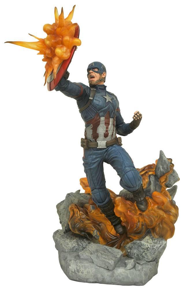 Captain America Civil War Marvel Milestones Statue Captain America 41 cm