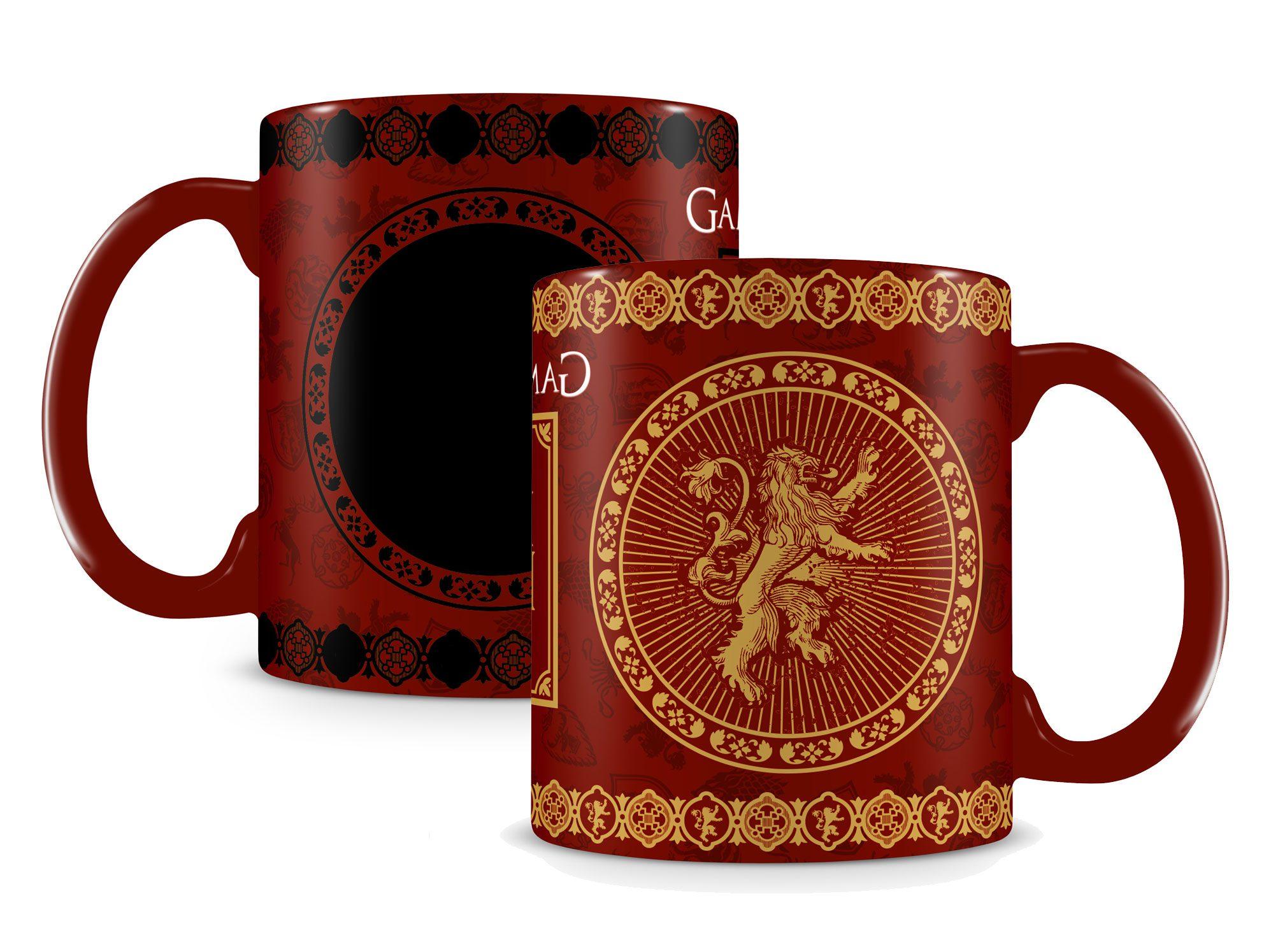 Game of Thrones Heat Change Mug Lannister