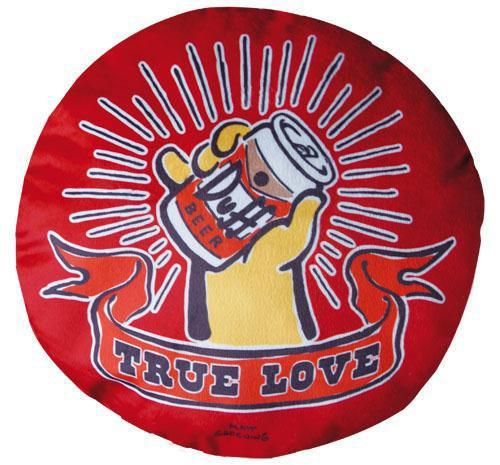 Duff Beer Pillow True Love