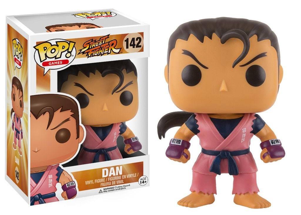 Street Fighter POP! Games Vinyl Figure Dan 9 cm
