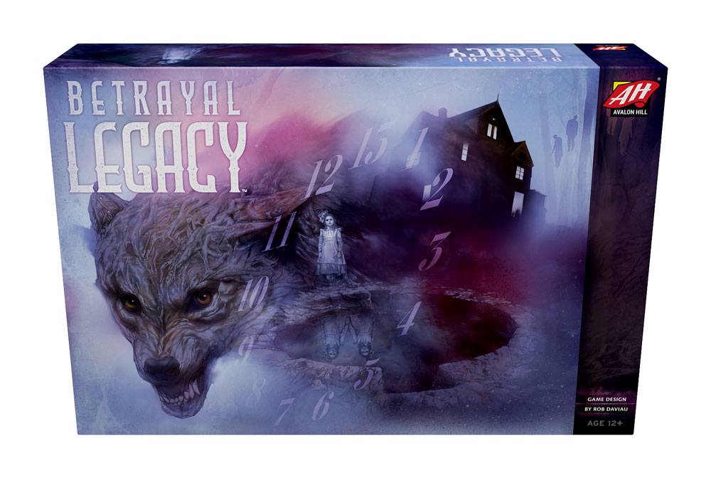 Avalon Hill Board Game Betrayal Legacy english