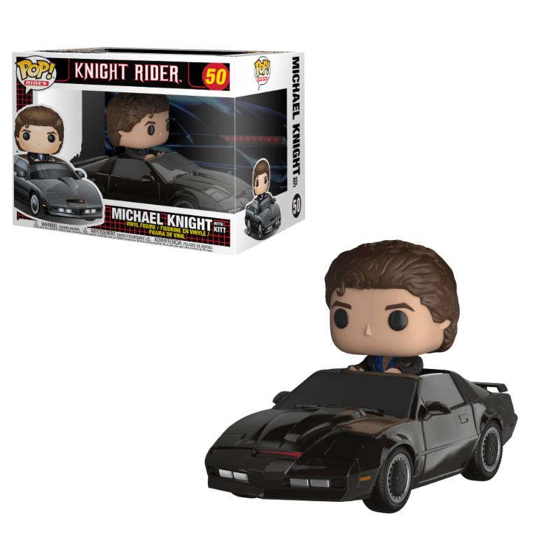 Knight Rider POP! Rides Vinyl Figure KITT & Michael Knight 15 cm