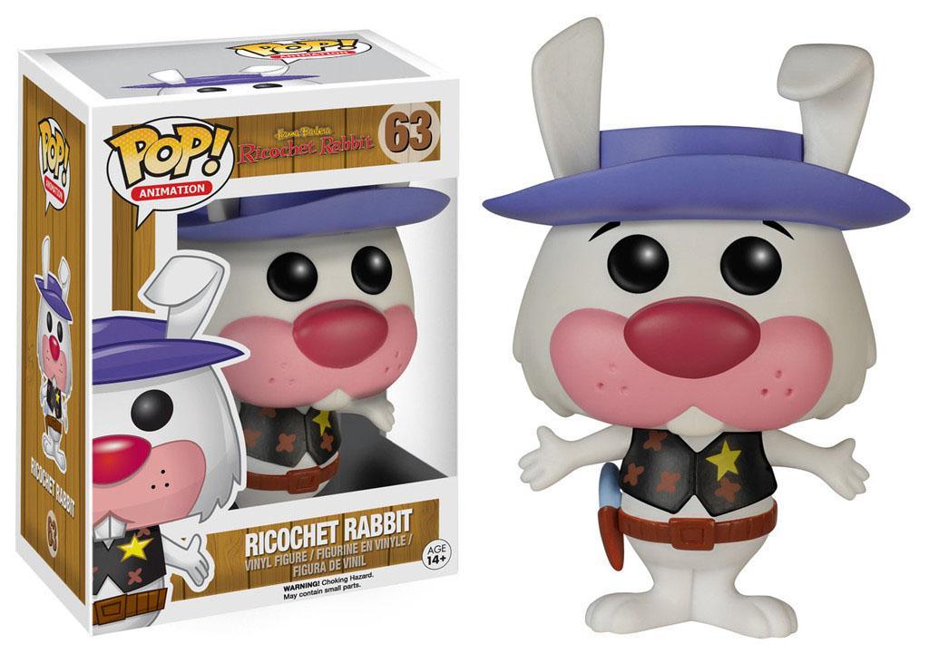 Hanna-Barbera POP! Animation Vinyl Figure Ricochet Rabbit 9 cm