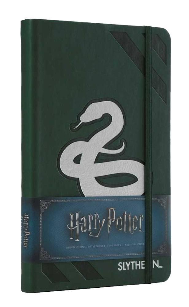 Harry Potter Hardcover Ruled Journal Slytherin New Design