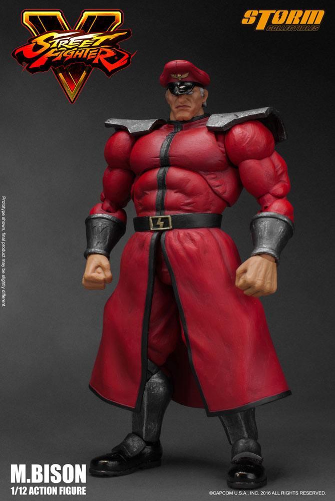 Street Fighter V Action Figure 1/12 M. Bison 18 cm