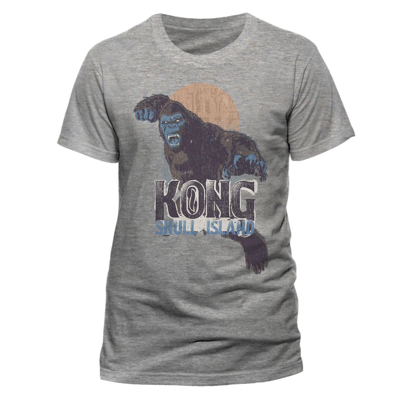 Kong Skull Island T-Shirt Leaping Sun Size M