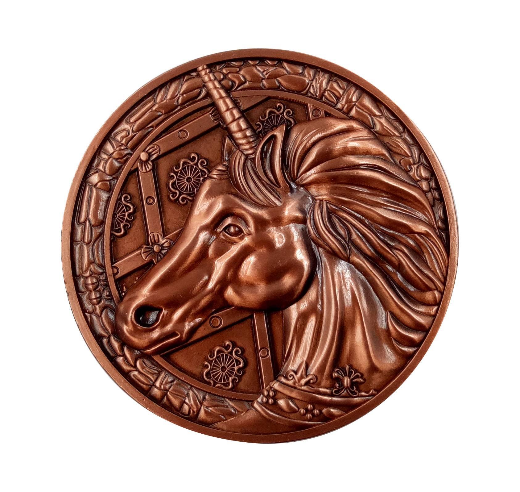 Resident Evil 2 Replica 1/1 Unicorn Medallion
