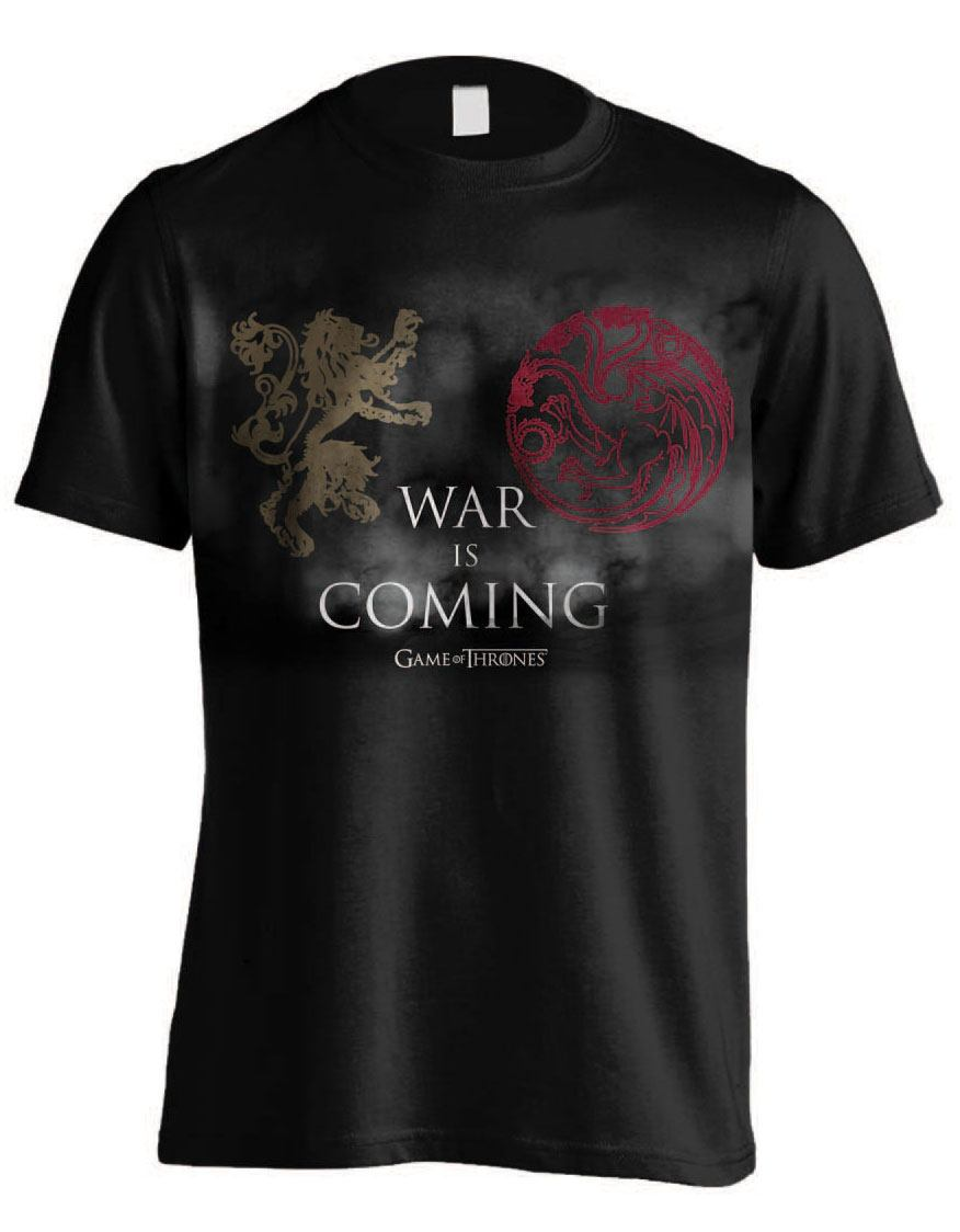 Game of Thrones T-Shirt War Is Coming Size XL