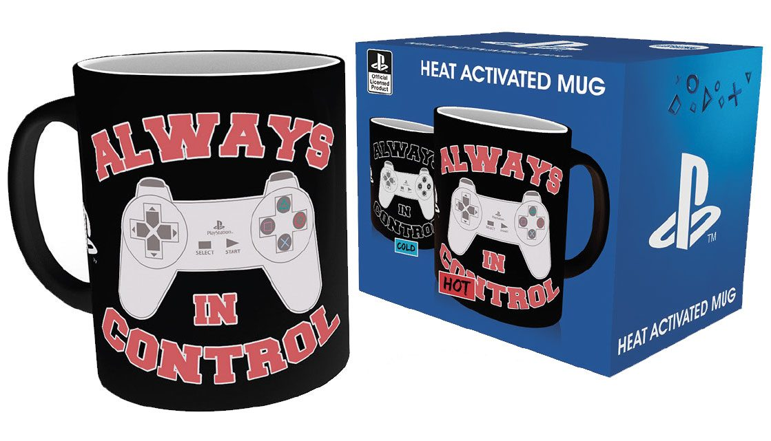Sony PlayStation Heat Change Mug Control