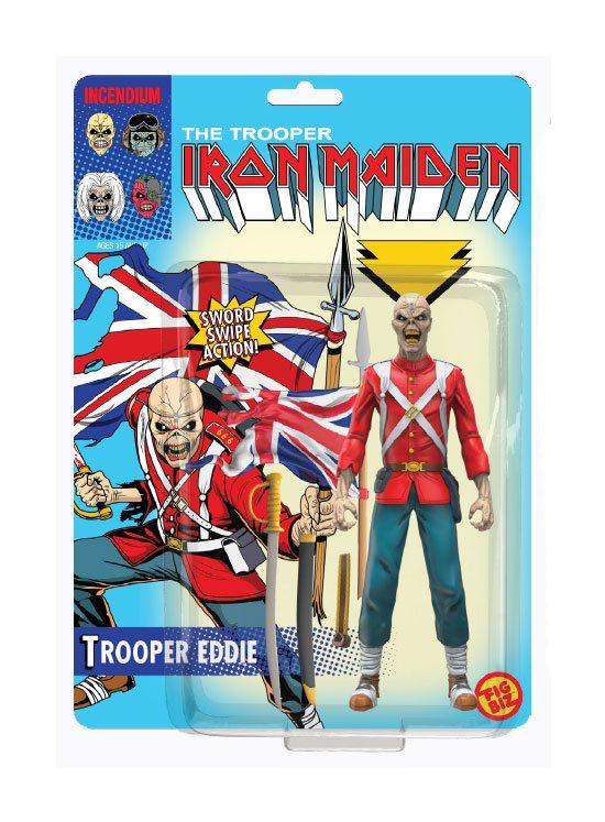 Iron Maiden FigBiz Action Figure Trooper Eddie 13 cm