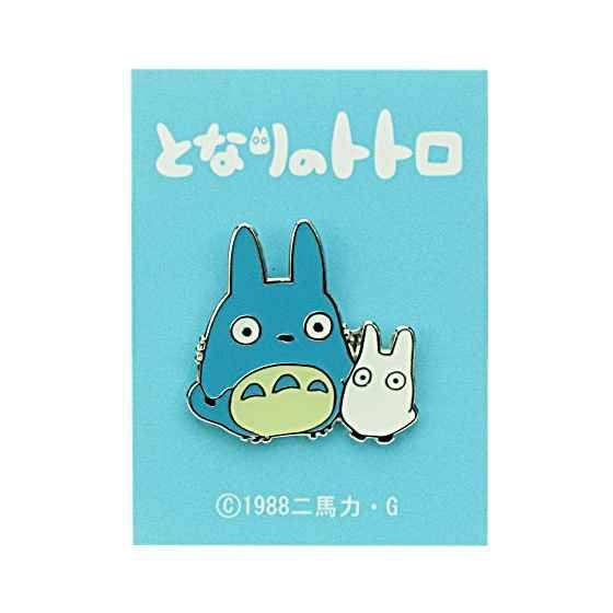My Neighbor Totoro Pin Badge Middle & Small Totoro