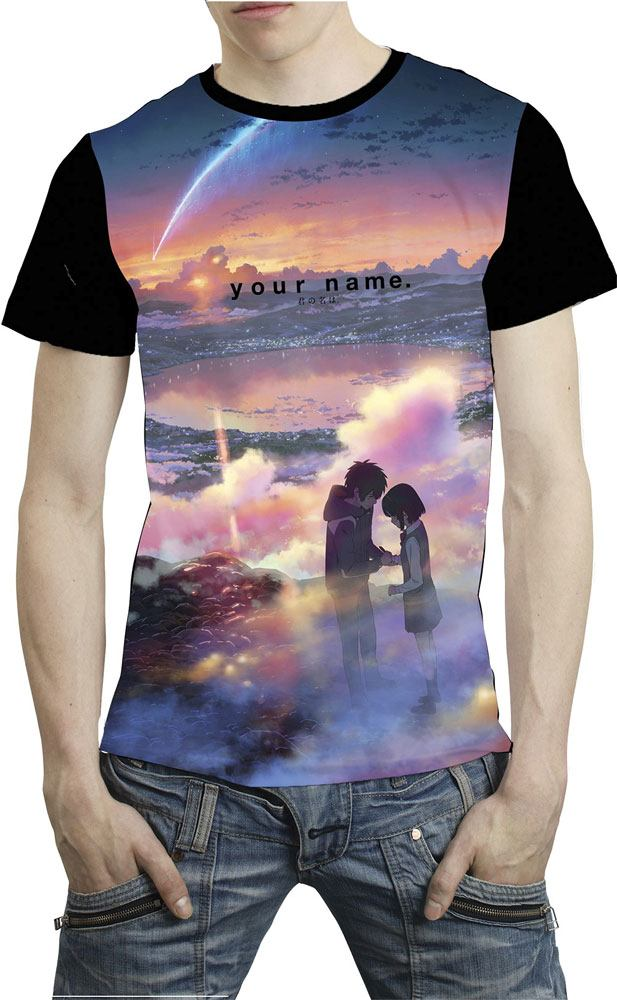 Your Name Sublimation T-Shirt Tramonto Size XL