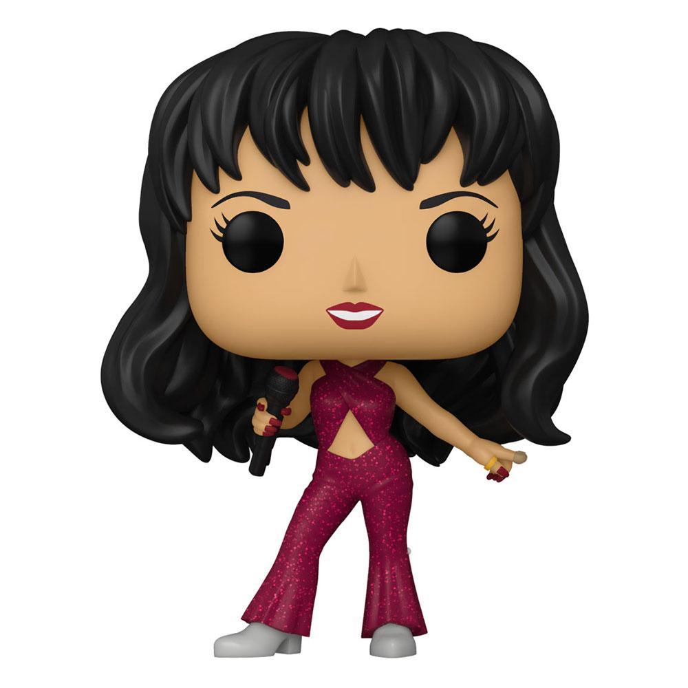 Selena POP! Rocks Vinyl Figure Selena (Burgundy Outfit) 9 cm