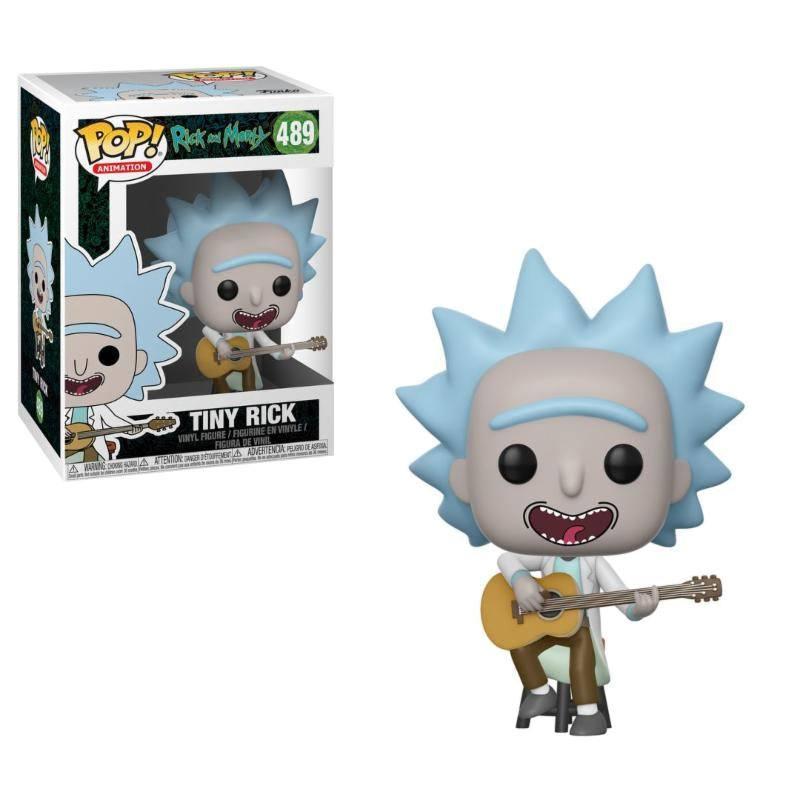 Rick and Morty POP! Animation Vinyl Figure Tiny Rick 9 cm