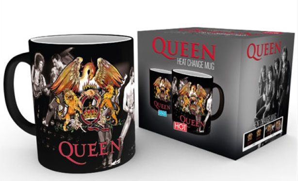 Queen Heat Change Mug Crest