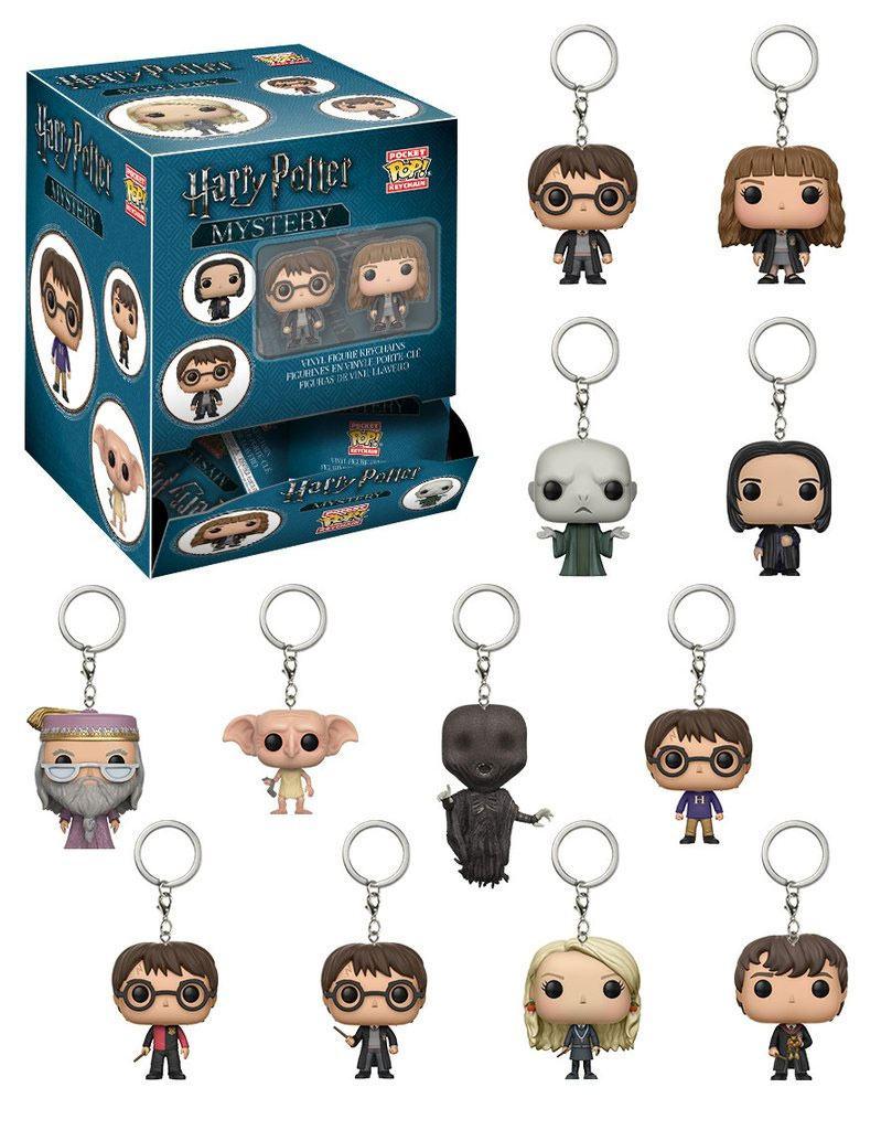 Harry Potter Pocket POP! Vinyl Keychain 5 cm Display (24)