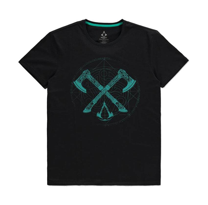 Assassin's Creed T-Shirt Axes Size M
