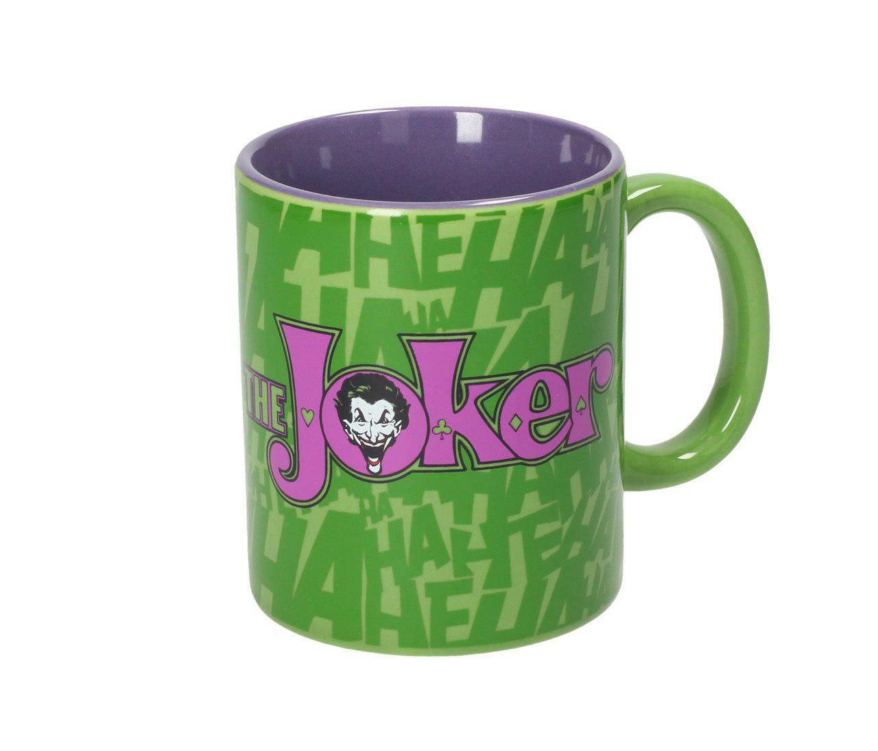 DC Comics Mug The Joker & Logo