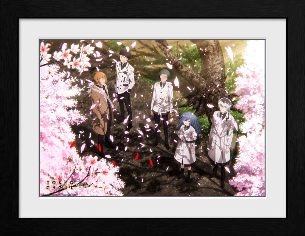 Tokyo Ghoul Collector Print Framed Poster Sakura Blossom