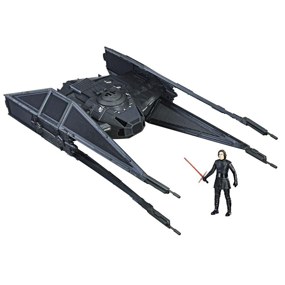 Star Wars Episode VIII Force Link Class D Vehicle with Figure 2017 Kylo Ren's TIE Silencer