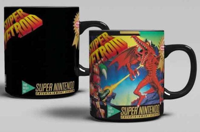 Super Nintendo Heat Change Mug Super Metroid