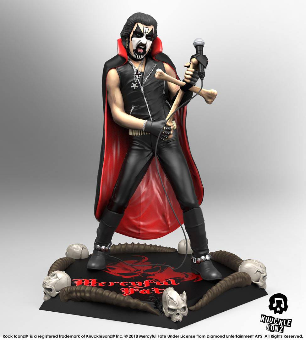 Mercyful Fate Rock Iconz Statue 1/9 King Diamond II 21 cm