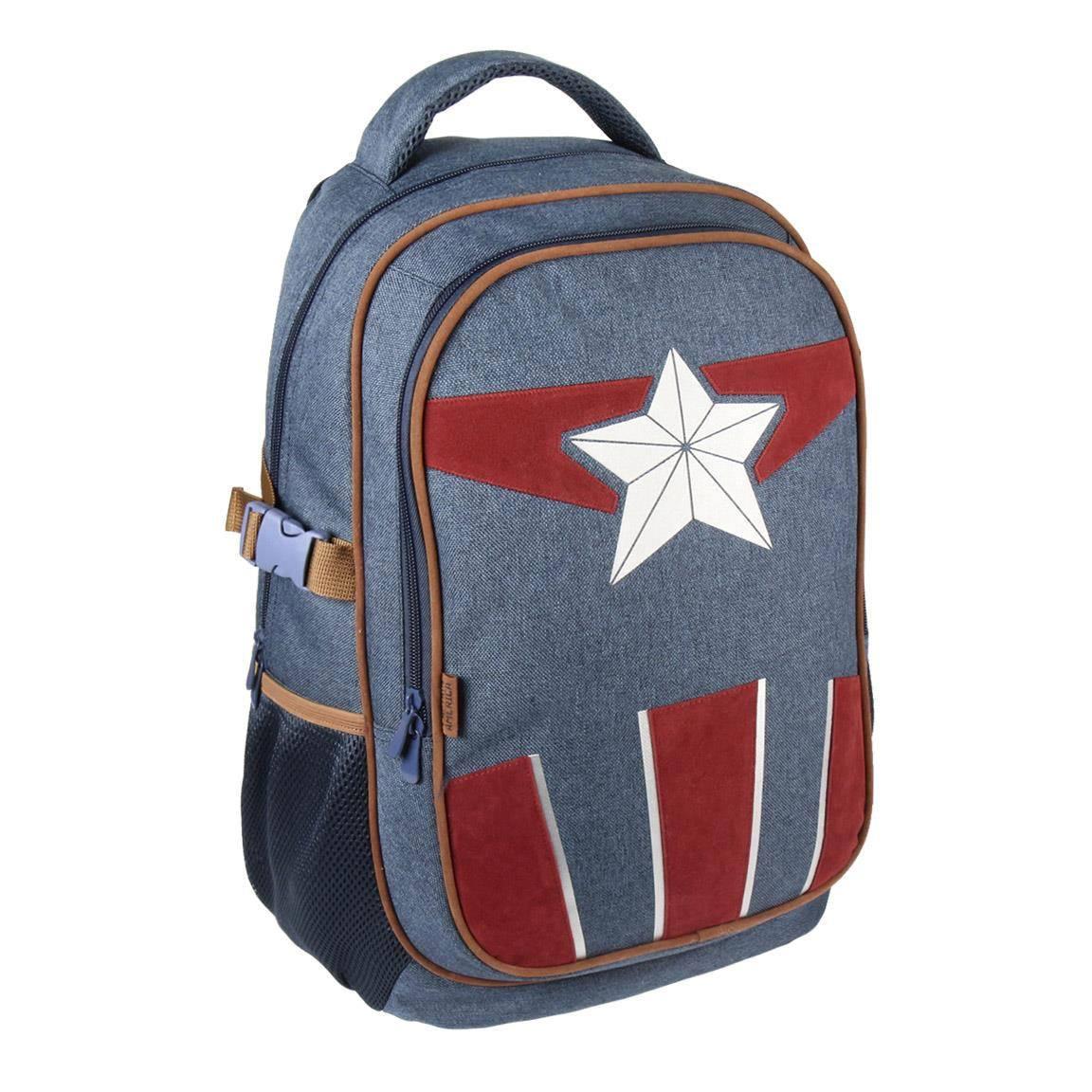 Marvel Backpack Captain America Costume 47 cm