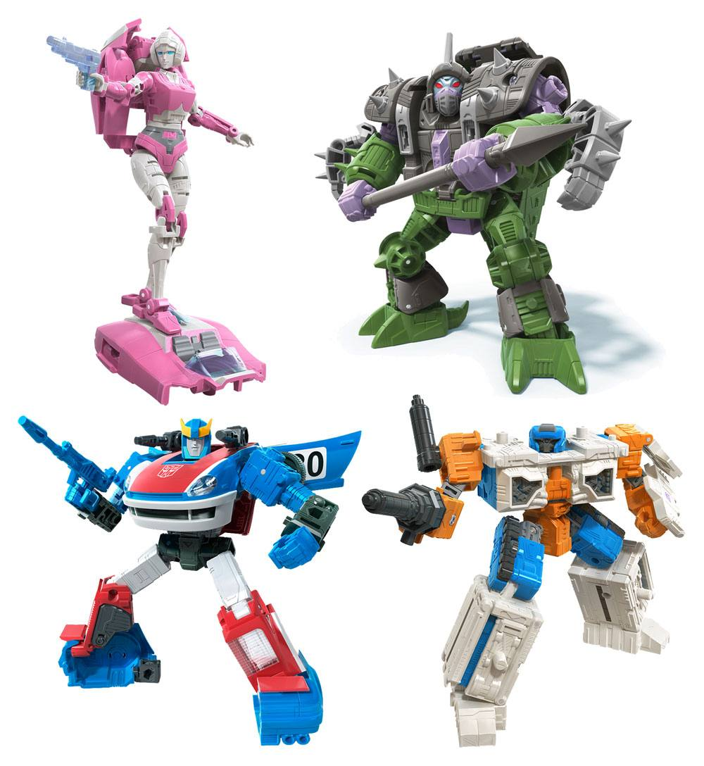 Transformers Generations War for Cybertron: Earthrise Action Figures Deluxe 2020 W2 Assortment (8)