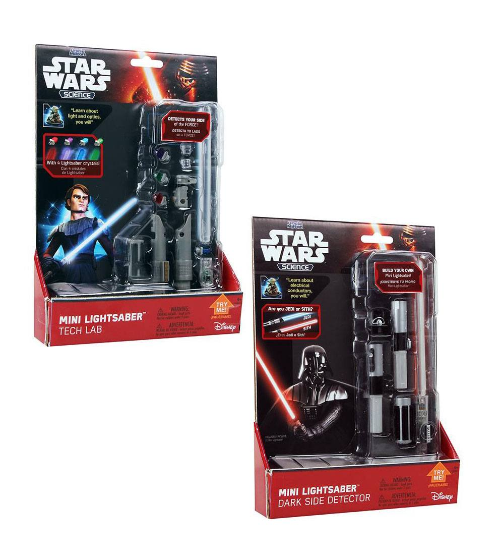 Star Wars Science Mini Lightsaber Assortment (12) --- DAMAGED PACKAGING
