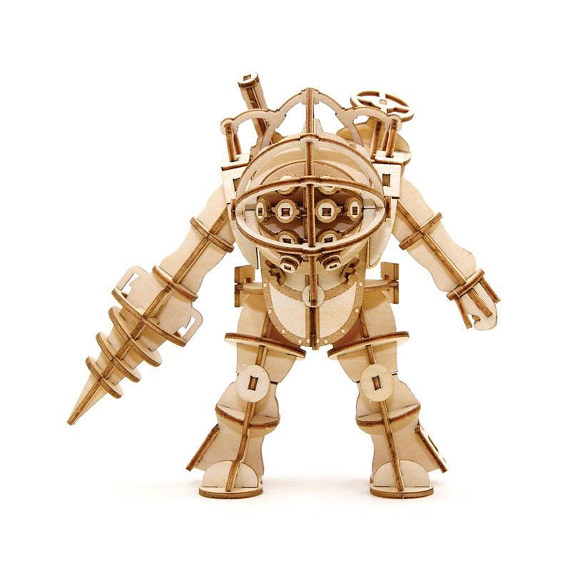 BioShock IncrediBuilds 3D Wood Model Kit Big Daddy