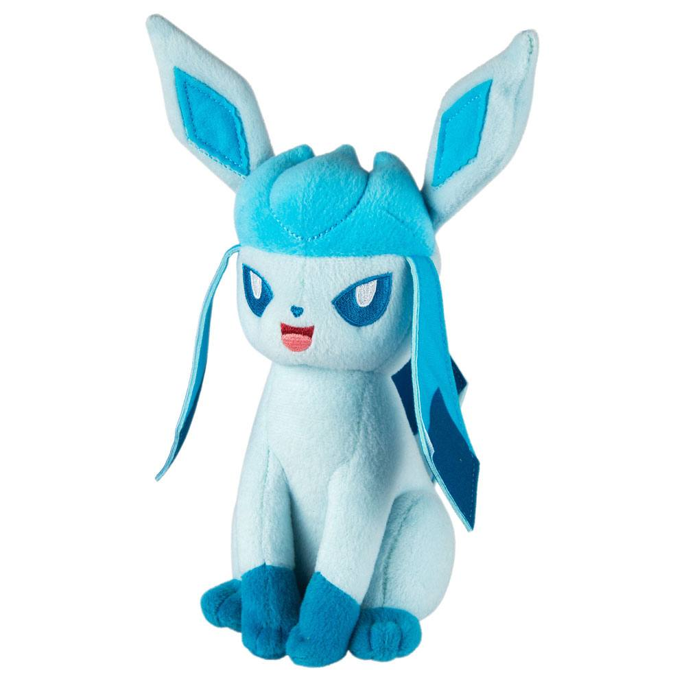 Pokemon Plush Figure Glaceon 20 cm --- DAMAGED PACKAGING