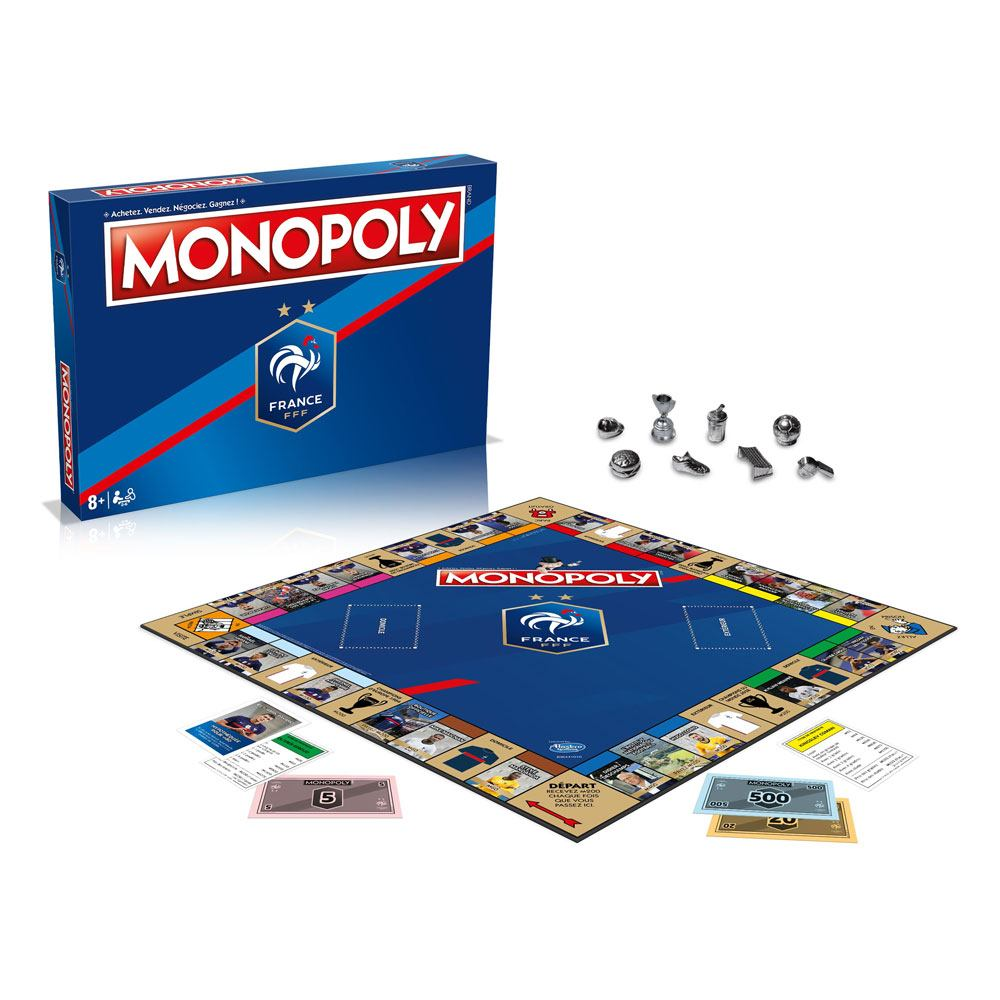 France FFF Board Game Monopoly *French Version*