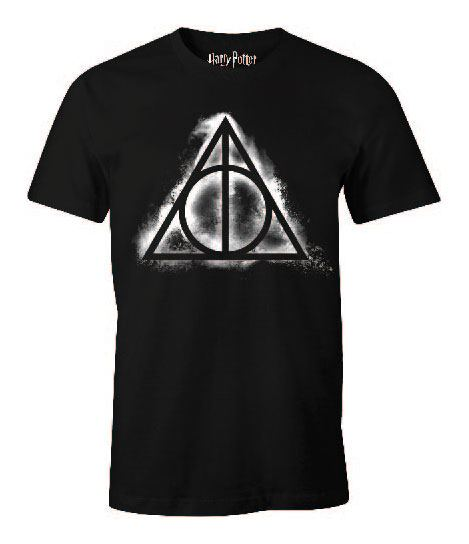 Harry Potter T-Shirt Deathly Hallows Shady Size M