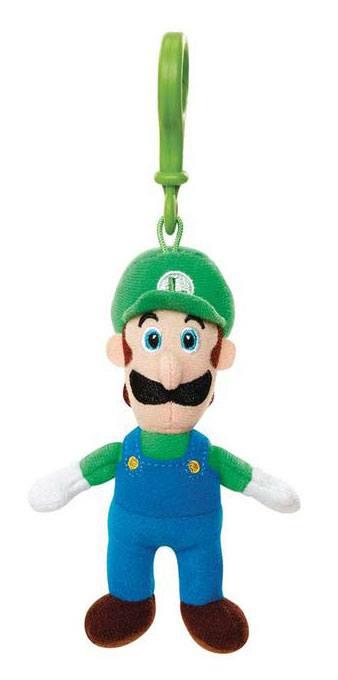 Super Mario Plush Keychain Luigi 8 cm