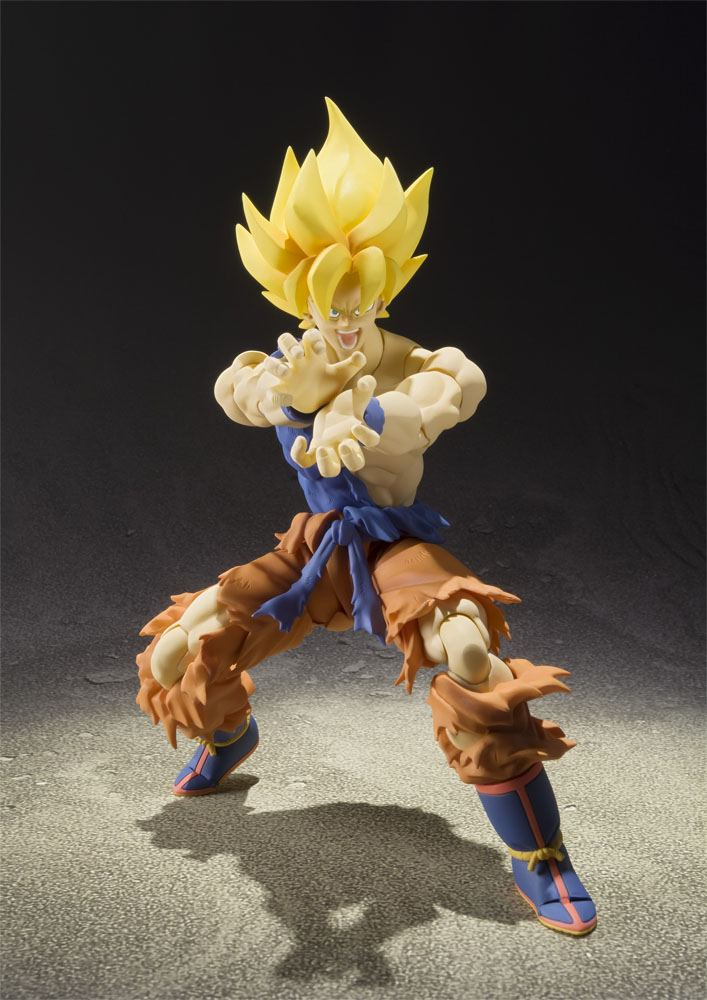 Dragonball Z S.H. Figuarts Action Figure Super Saiyan Son Goku Super Warrior Awakening Ver. 16 cm