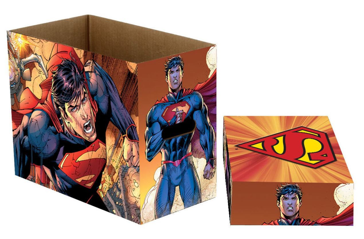 DC Comics Storage Boxes Superman Fly 23 x 29 x 39 cm Case (5)
